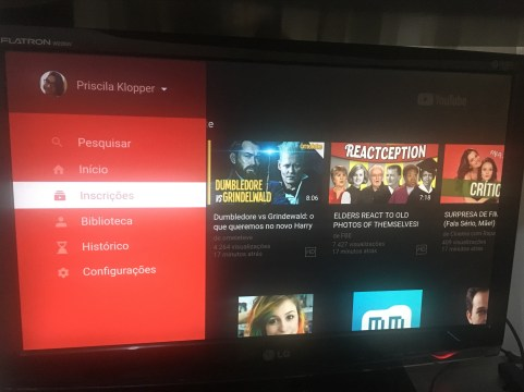 YouTube no Fire TV Stick