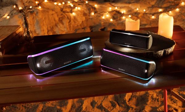 Novas caixas de som Bluetooth da Sony