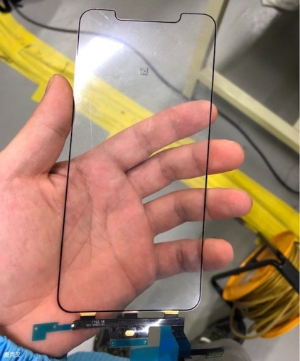 "Suposta peça (tela) do ""iPhone X Plus"""