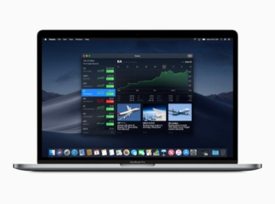 App Bolsa/Stocks no macOS Mojave