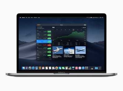 App Bolsa/Stocks no macOS Mojave