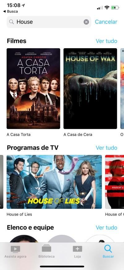 Netflix já aparecendo no aplicativo TV