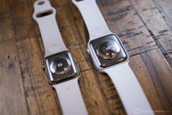 Foto do Apple Watch Series 4 (por MacMagazine)