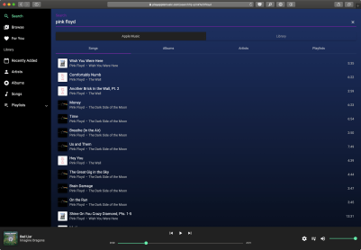 Apple Music Player