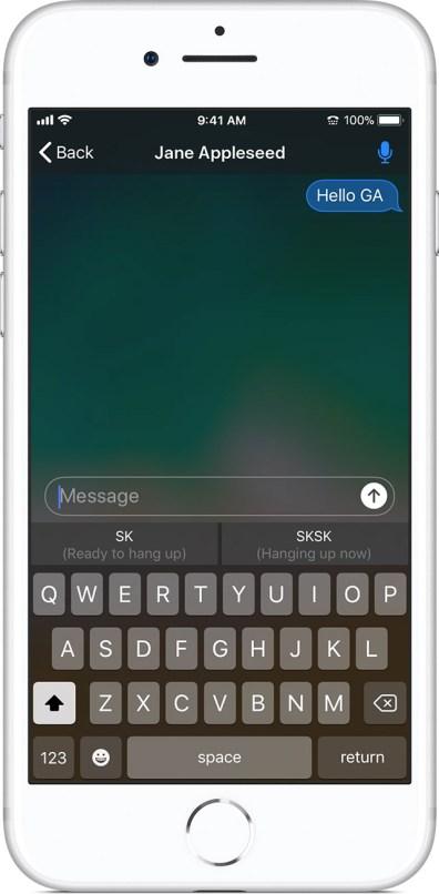 RTT no iOS