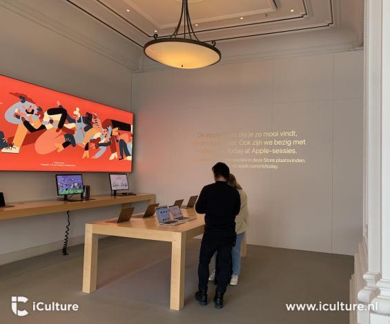 Reformas na Apple Amsterdã