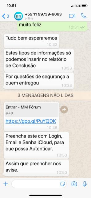Golpe envolvendo o MacMagazine no WhatsApp