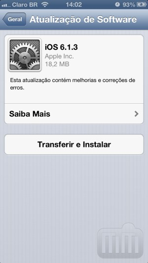 apple libera ios 6 1 3 com correção para o bug que dava acesso aos