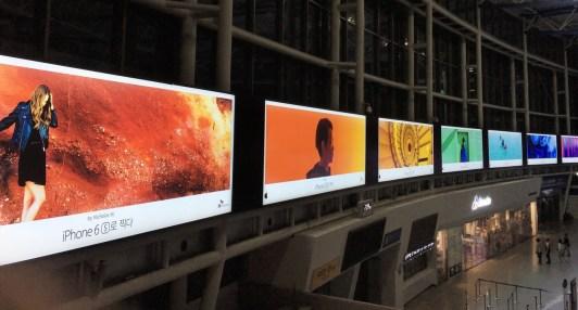 "Nova fase colorida da campanha ""Clicada com iPhone"" da Apple"