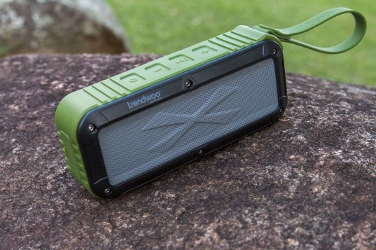 Caixa de som Bluetooth à prova d'água Rockman-L, da Trendwoo