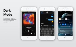 Conceito iOS Modo noturno