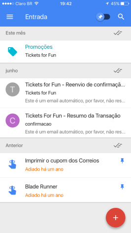 Inbox, do Google