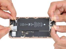 iPhone 8 desmontado pela iFixit