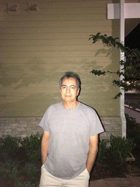 Foto do iPhone 7 Plus com flash