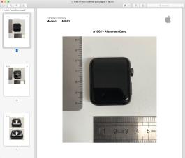 Apple Watch A1861 homologado pela Anatel