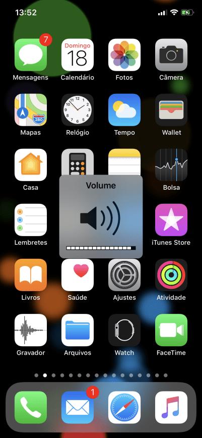 iOS - Volume
