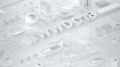 Wallpaper da WWDC 2018 criado por Martin Hajek