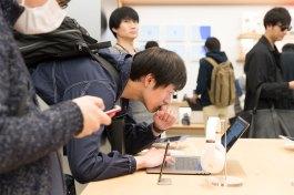 Inauguração da Apple Shinjuku no Japão