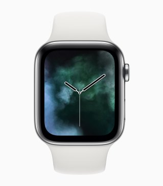 Mostrador de vapor no Apple Watch Series 4