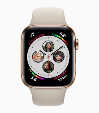 Apple Watch Series 4 com mostrador de contatos