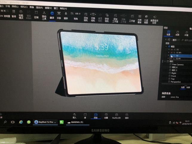 Supostos renders de iPad Pro