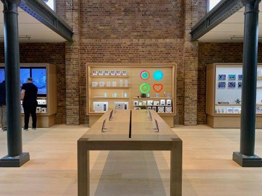 Apple Covent Garden após a reforma