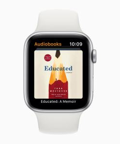 App Audiolivros no watchOS 6