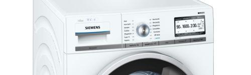 Siemens Waschmaschine WM6YH840 mit Home Connect im Test