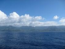 Along the Nā Pali Coast