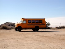 Catalina's Rugged School Bus