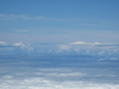 Cloudscape from Mauna Kea