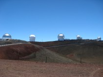 Observatories on the Mauna Kea Summit (2)