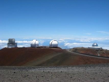 Observatories on the Mauna Kea Summit (3)