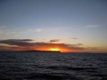 Sunset Behind Ni'ihau