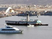 The SS Catalina in Ensenada, Mexico