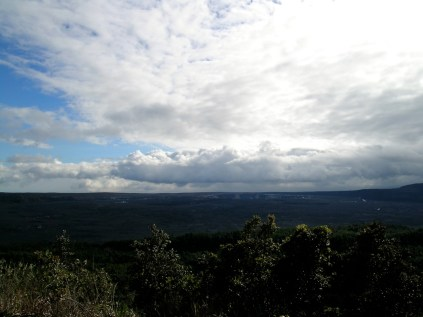 The View of the Kīlauea Caldera from the 'Iliahi Trail