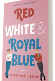 Red, White, & Royal Blue Book Cover