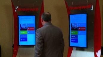 Services Kiosk 2 screens