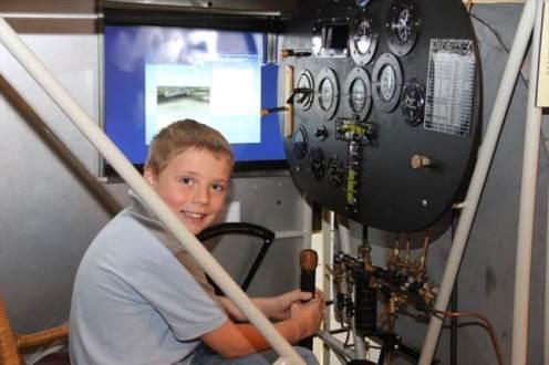 Boy in Simulator