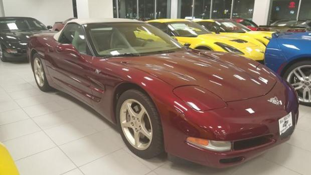 2003 50th Anniversary Corvette Convertible For Sale