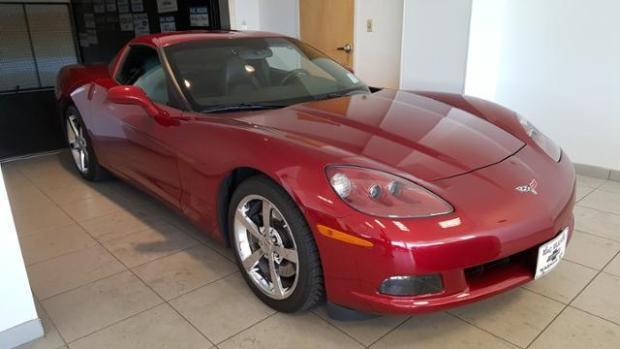 2009 Corvette Coupe - 3LT - Crystal Red Metallic