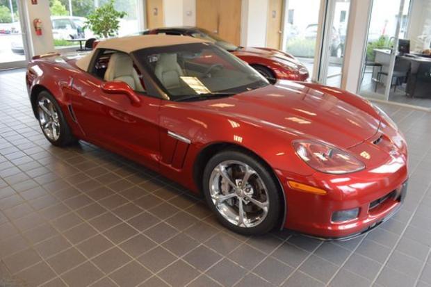 2011 Chevrolet Corvette Convertible Grand Sport 3LT