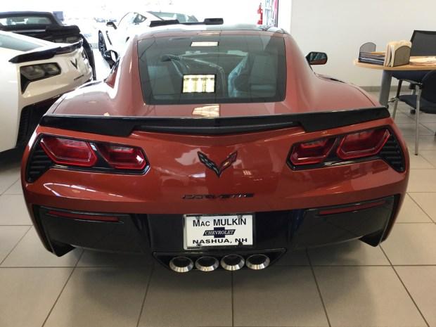 2016 Corvette Z51 Coupe - Daytona Sunrise Orange Metallic