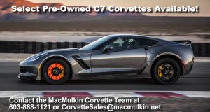 Spring Has Sprung at MacMulkin Chevrolet with Pre-Owned C7 Corvette Stingrays!