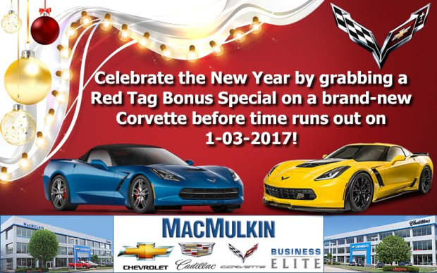 End of Year 2017 Corvette Specials