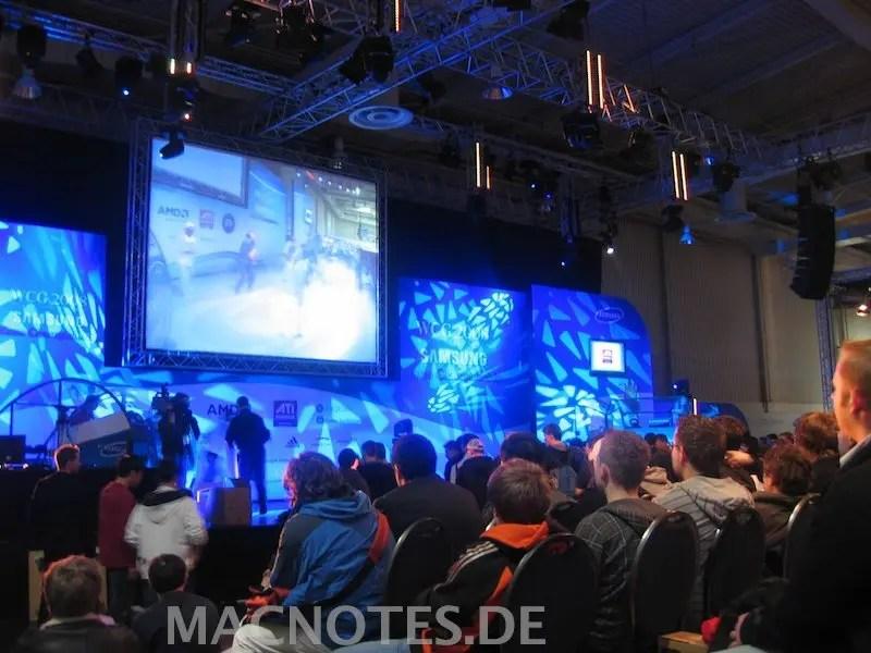 World Cyber Games auf der CeBit 2008