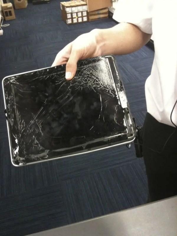 iPad - überfahren in New York