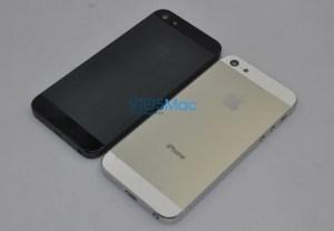 iPhone 5 - Rückseite weiß und schwarz, Foto: 9to5Mac