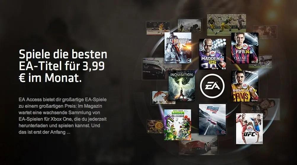 Ea Access Spiele