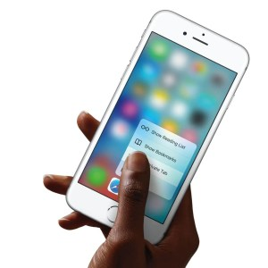iPhone 6s mit 3D Touch